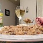 Mushroom and Pressed Apple Quinoa Risotto