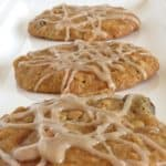 Iced Oatmeal Raisin Cookies