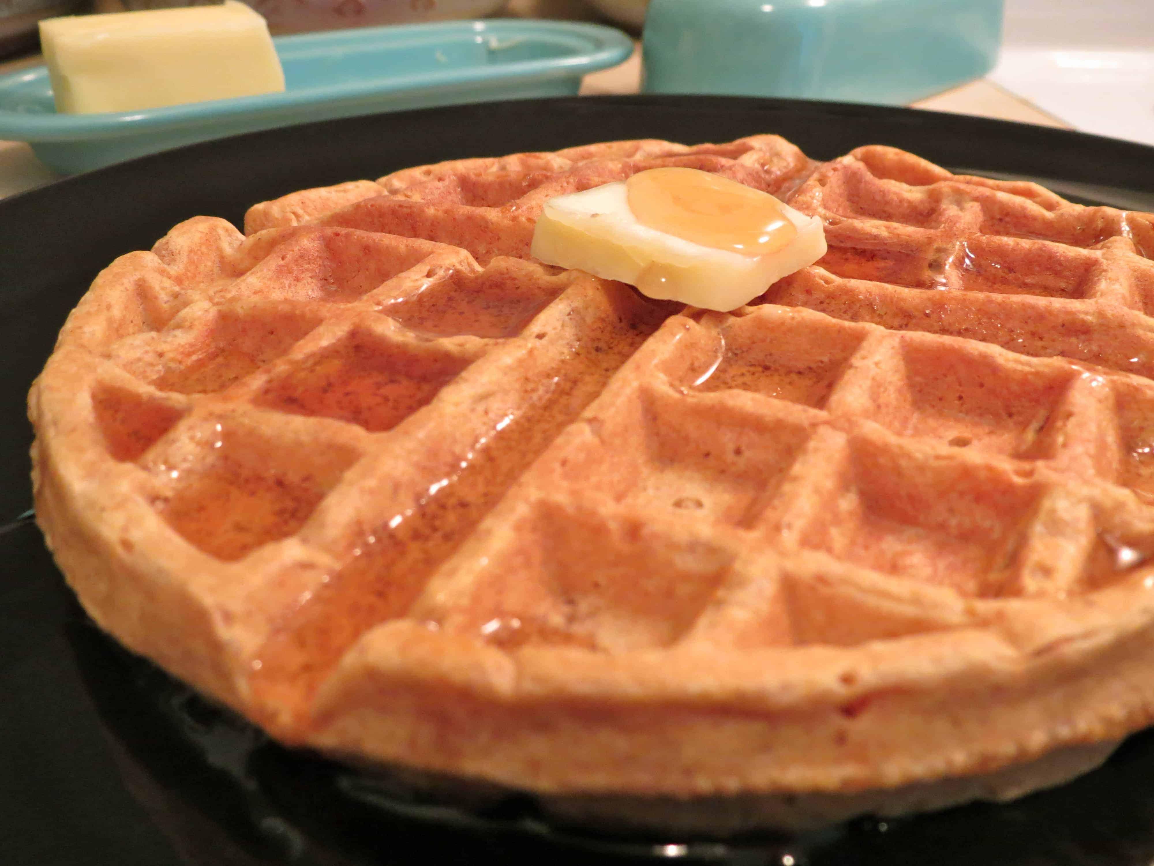 IMG 1096 Sweet Potato Waffles