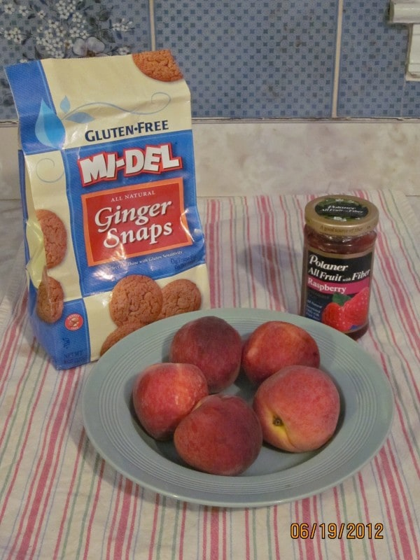 IMG 0743 e1340594011653 {Guest Post} Peach Gingersnap Tarts