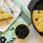 Blackberry Skillet Cornbread: Guest Post on Sarcastic Cooking