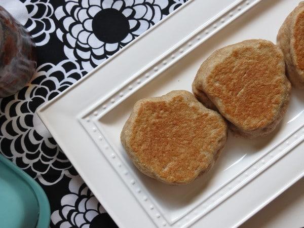 IMG 2308 e1346284396901 Whole Wheat English Muffins