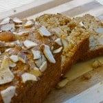 Almond Applesauce Pear Bread