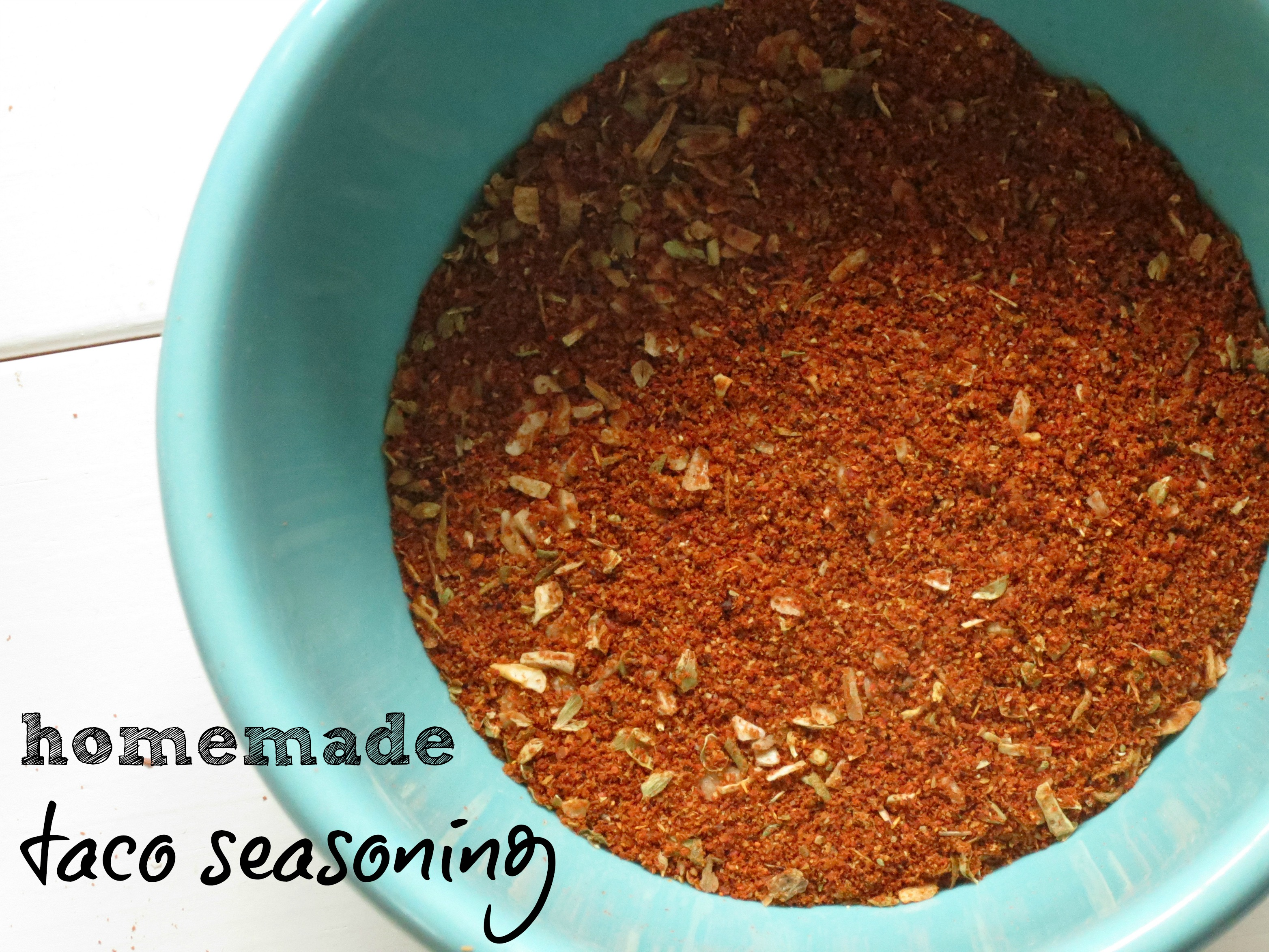 Homemade Chili And Taco Seasoning Recipe — Dishmaps