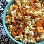 Kitchen Sink Caramel Corn: Guest Post on Around My Family Table