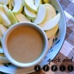 Quick and Easy Apple Dip