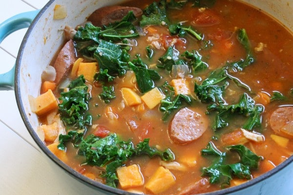 IMG 2682 e1354236476946 Chicken and Smoked Sausage Stew
