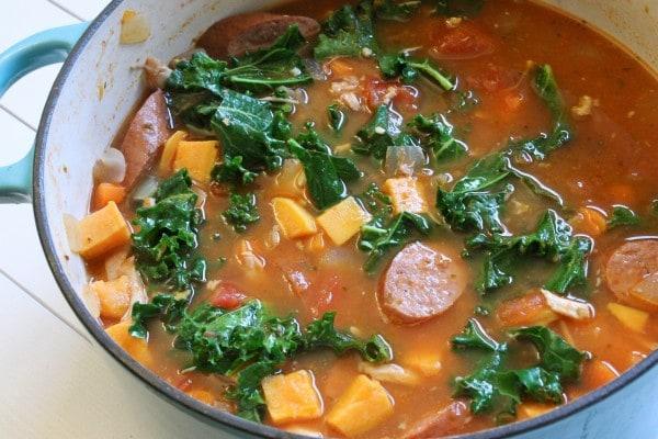 IMG 2682 e1354236476946 Chicken and Smoked Sausage Stew