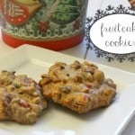 Treats for Santa: Fruitcake Cookies