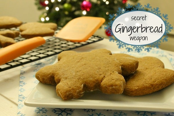secret weapon gingerbread e1355188828365 Treats for Santa: Secret Weapon Gingerbread