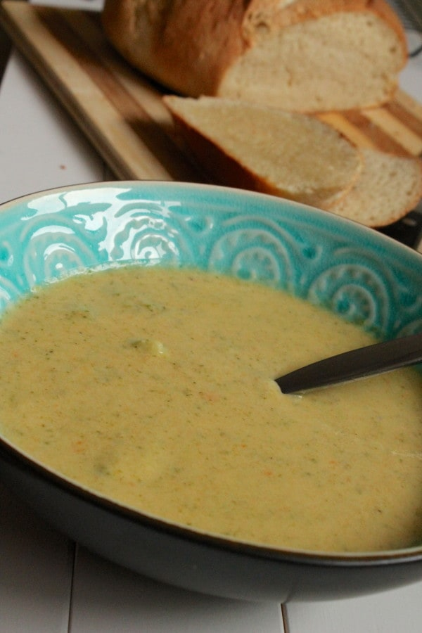 IMG 3038 e1359424463137 Broccoli Cheese Soup