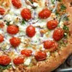 Pesto Veggie Pizza