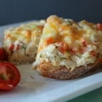 Open-Faced Tuna Melt