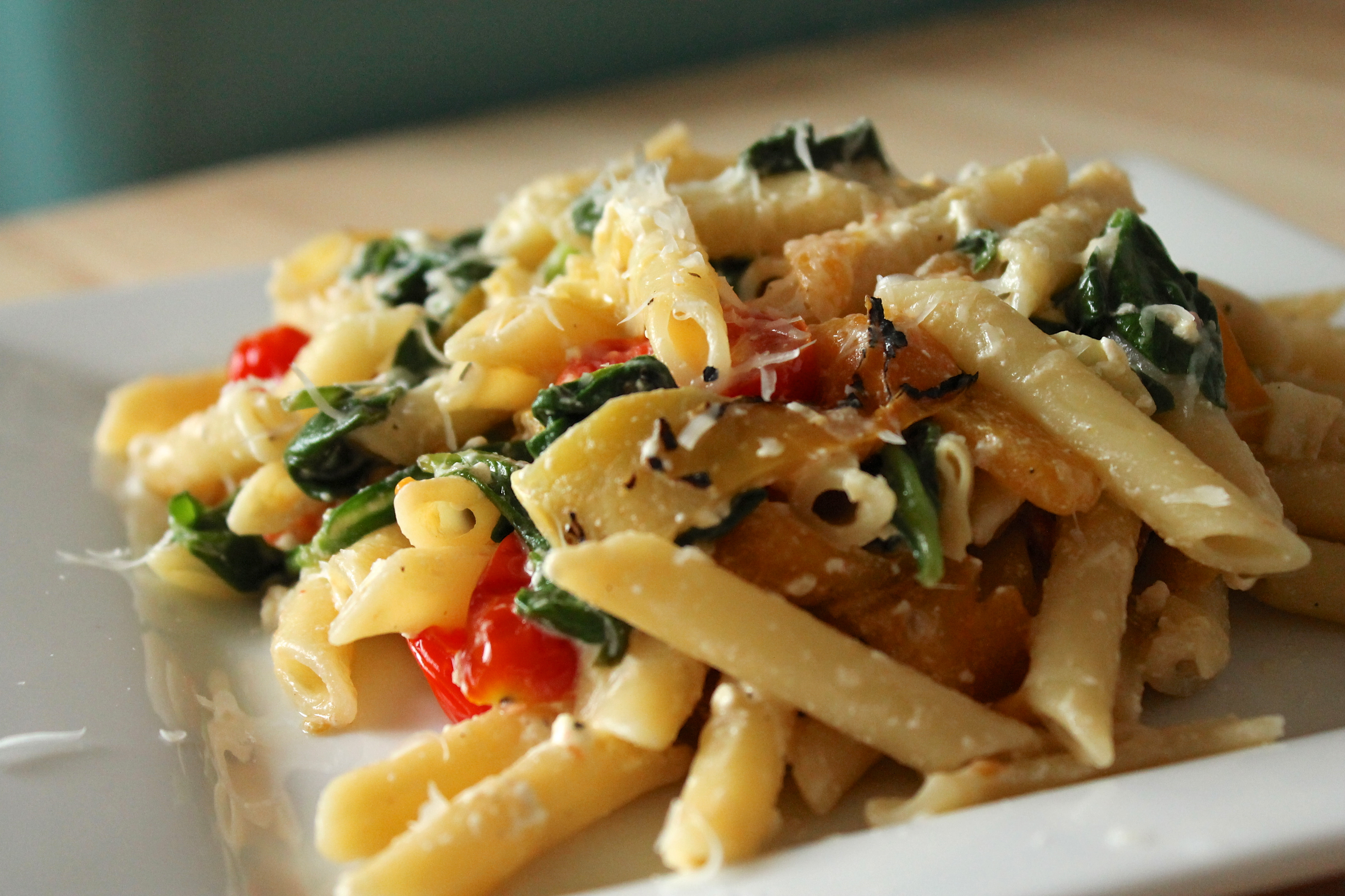 Do you know what type of pasta I love?