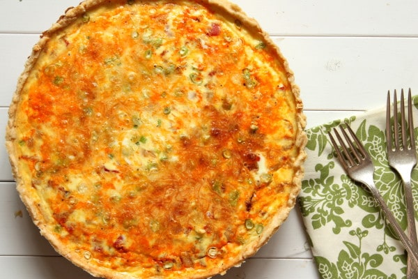 Mexican-Style Quiche