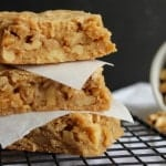 Maple Walnut Blondies