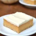 {Friends First with Whipped} Pumpkin Cheesecake Bars