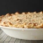 Streusel-Topped Sweet Potato Pie