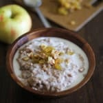 Apple Cinnamon Crockpot Oatmeal 2