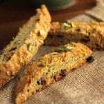 Cranberry-Pistachio Biscotti {gluten-free!}