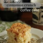 Batterway Cinnamon-Crunch Coffee Cake