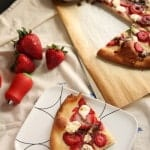 Strawberry and Goat Cheese Flatbread