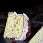 {Friends First with Bakeaholic Mama} Buttermilk Cake with Raspberry Buttercream