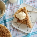Deep-Dish Crumb-Topped Apple Pie