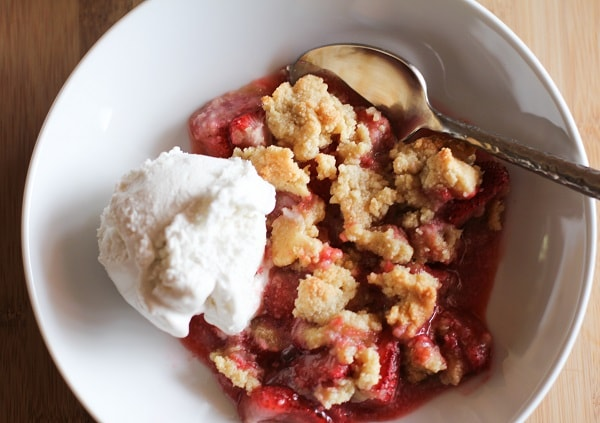 healthy fruit crumble recipe is strawberry a fruit