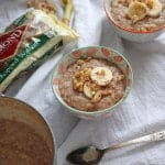 Banana Bread Steel Cut Oatmeal