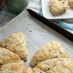Cranberry Ginger Cream Scones