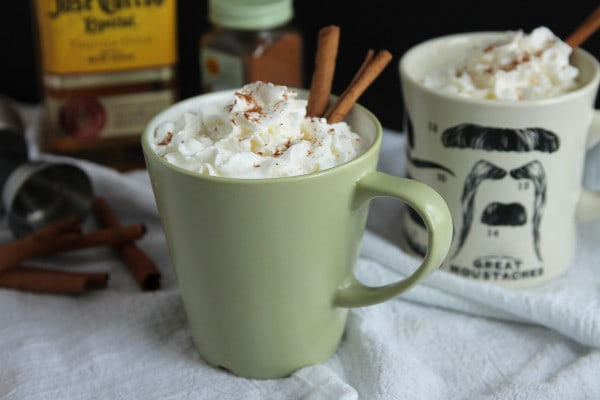Mexican Style Hot Chocolate with Tequila and Cayenne Pepper