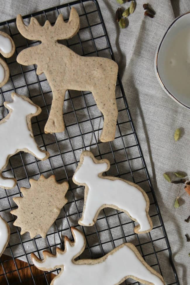 Chai Cutout Cookies Image