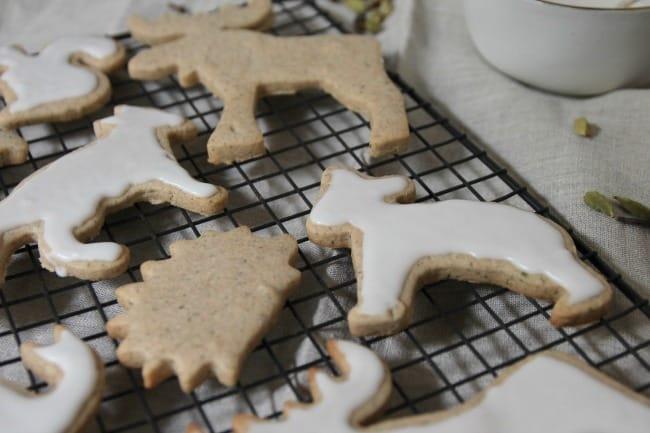 Chai Cutout Cookies Photo