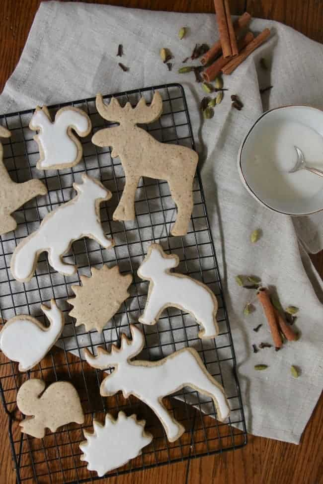 Chai Cutout Cookies Picture